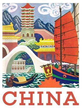 Visit China by The Saturday Evening Post