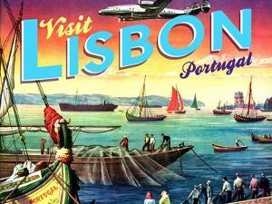 Visit Lisbon by The Saturday Evening Post