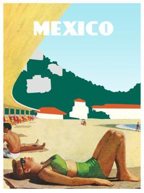 Visit Mexico by The Saturday Evening Post