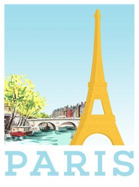 Visit Paris by The Saturday Evening Post