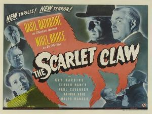 The Scarlet Claw, UK Movie Poster, 1944