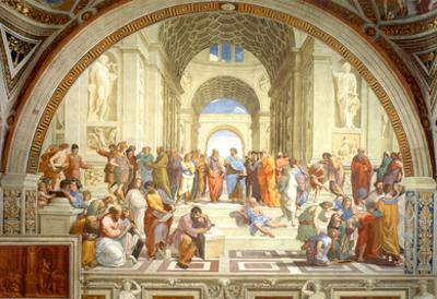 The School of Athens Scuola di Atene by Raphael Art Print Poster