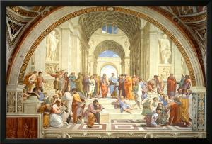 The School of Athens Scuola di Atene by Raphael Poster