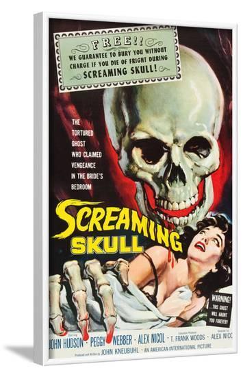 The Screaming Skull, 1958--Framed Photo