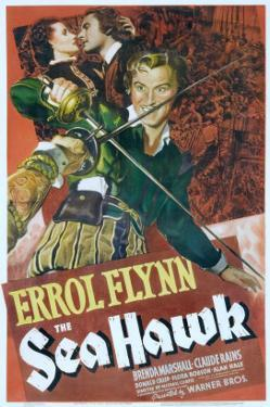 The Sea Hawk, Brenda Marshall, Errol Flynn, 1940