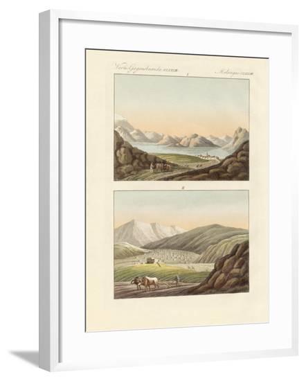 The Sea of Genezareth--Framed Giclee Print