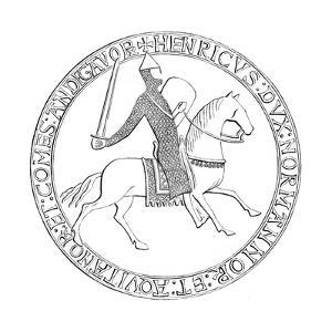 The Seal of King Henry II of England, 12th Century