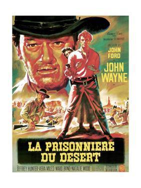 The Searchers, from Left, Ward Bond, John Wayne, Natalie Wood, Jeffrey Hunter, 1956