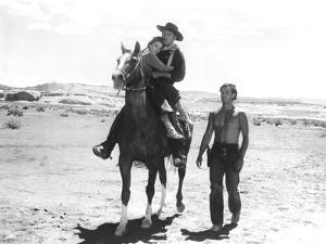 The Searchers, Natalie Wood, John Wayne, Jeffrey Hunter, 1956