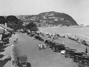 The Seaside Resort of Minehead in Somerset, England, 1930's