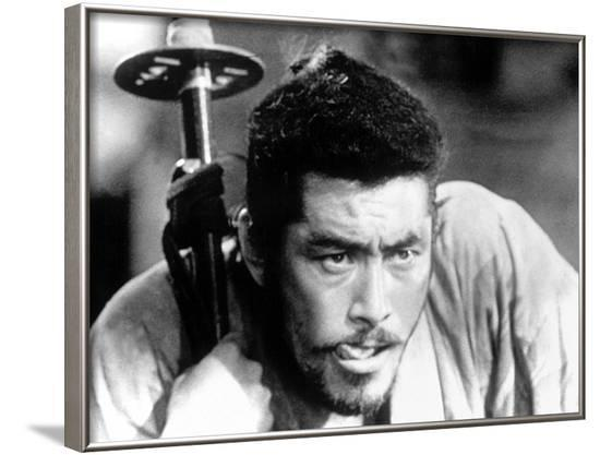 The Seven Samurai, (aka Shichinin No Samurai) Toshiro Mifune, 1954--Framed Photo