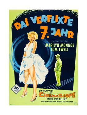 The Seven Year Itch, (aka Das Verflixte 7 Jahr), Marilyn Monroe, Tom Ewell, 1955