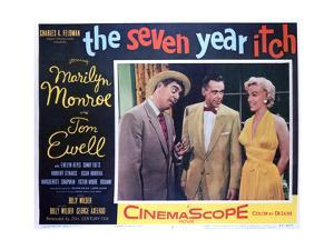 The Seven Year Itch - Lobby Card Reproduction