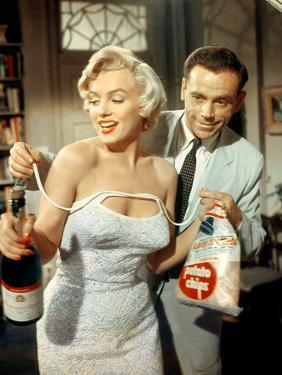 The Seven Year Itch, Marilyn Monroe, Tom Ewell, 1955