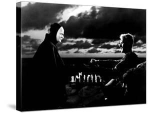 The Seventh Seal, Bengt Ekerot, Max Von Sydow, 1957
