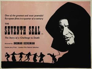 The Seventh Seal, UK Movie Poster, 1957