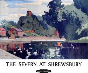 The Severn at Shrewsbury, BR, c.1950s
