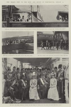 The Shah's Visit to the King and Queen at Portsmouth, 20 August