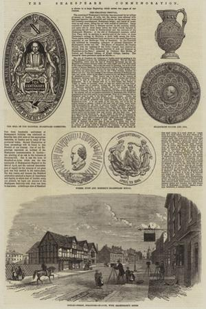 The Shakespeare Commemoration