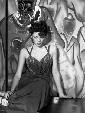The Shanghai Gesture, Gene Tierney Wearing a Costume Designed by Oleg Cassini, 1941