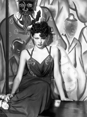 The Shanghai Gesture, Gene Tierney (Wearing a Costume Designed by Oleg Cassini), 1941