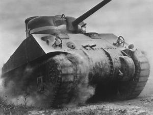The Sherman Tank Was the Primary Battle Tank of the U. S. and Western Allies from 1942-45