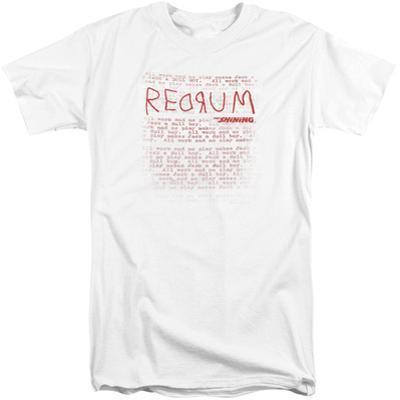 The Shining/Redrum Scrawl (Big & Tall)