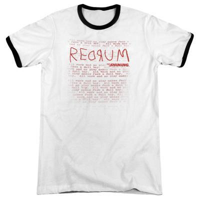 The Shining/Redrum Scrawl Ringer
