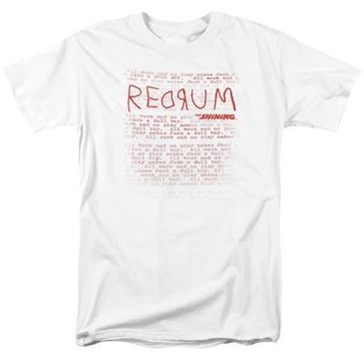 The Shining/Redrum Scrawl