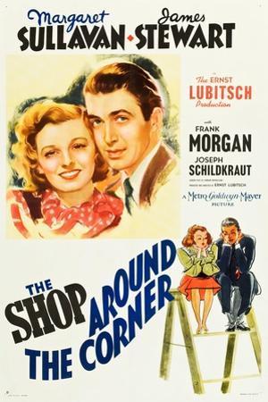 The Shop Around the Corner, Margaret Sullavan, James Stewart, 1940