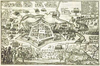 The Siege of Neuhausel by the Turks in 1663 from a Book on the Ottoman Campaigns in Europe