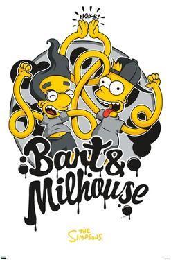 The Simpsons - Bart & Milhouse