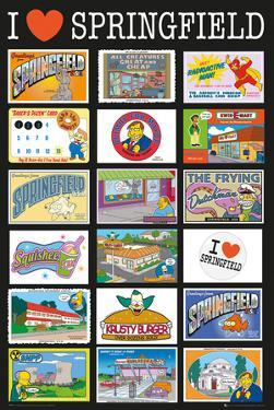 The Simpsons Postcards