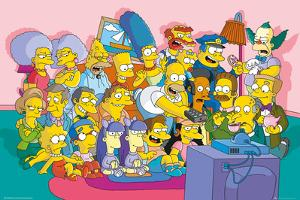 The Simpsons Sofa Cast