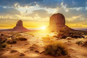 The Sisters Monument Valley