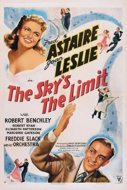 The Sky's the Limit, Top Left: Joan Leslie, Bottom Right: Fred Astaire, 1943