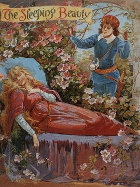 The Sleeping Beauty, Fairy Tales Children's Books Pantomimes Posters, UK, 1910