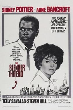 The Slender Thread, Sidney Poitier, Anne Bancroft, 1965