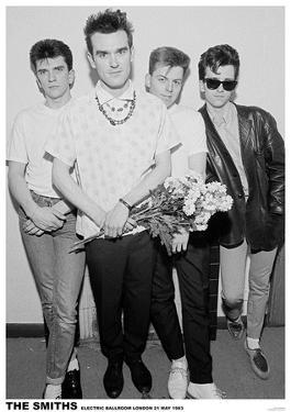 The Smiths Electric Ballroom 1983 Music Poster Print