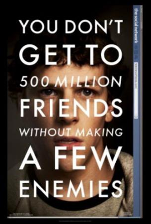 The Social Network (Jesse Eisenberg) Movie Poster