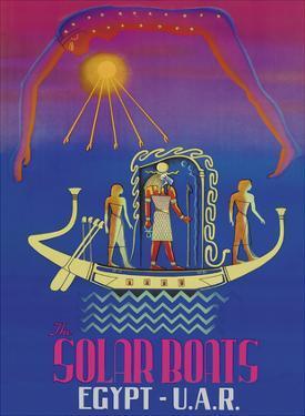 The Solar Boats - Egypt & U.A.R. (United Arab Republic) - Egyptian Sun God
