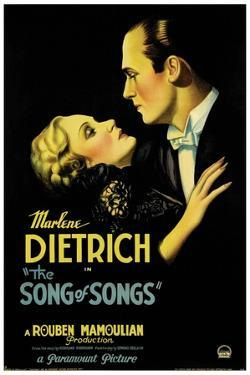 THE SONG OF SONGS, left: Marlene Dietrich, Brian Aherne, 1933