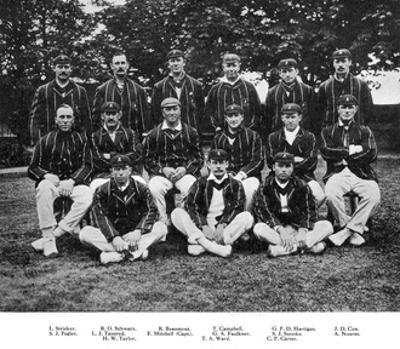 The South African Cricket Team of 1912