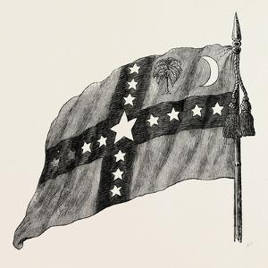 The South Carolina Flag, United States of America, American History, USA, 1870S