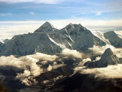 The Southern Face of Mount Everest