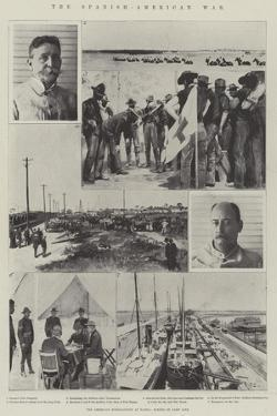 The Spanish-American War, the American Mobilisation at Tampa, Scenes of Camp Life