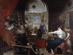 The Spinners or the Fable of Arachne by Diego Velazquez