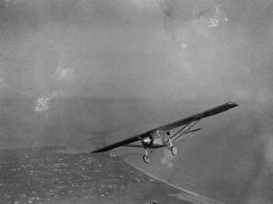 The Spirit of St. Louis in Flight