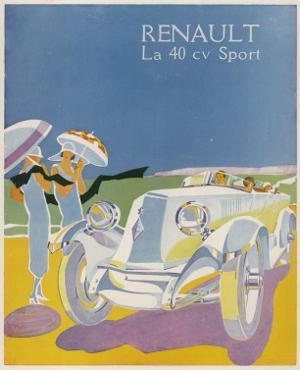 The Splendid Renault on a Fine Summer's Day