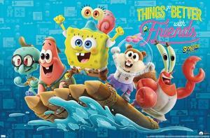 The SpongeBob Movie: Sponge On The Run - Friends